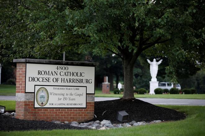 Harrisburgh es una de las diócesis de Pensilvania mencionadas en el informe.
