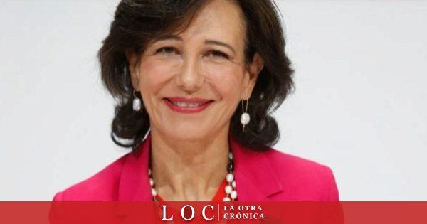 La presidenta del Banco Santander ha publicado imágenes personales en