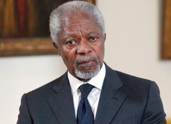 El Premio Nobel de la Paz y ex secretario general