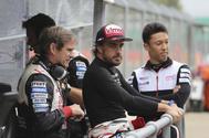 Fernando Alonso, en las Seis horas de Silverstone.