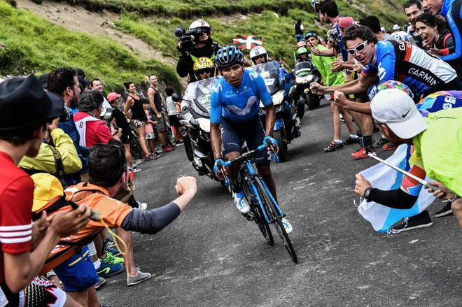 Nairo Quintana, durante el último Tour de Francia.