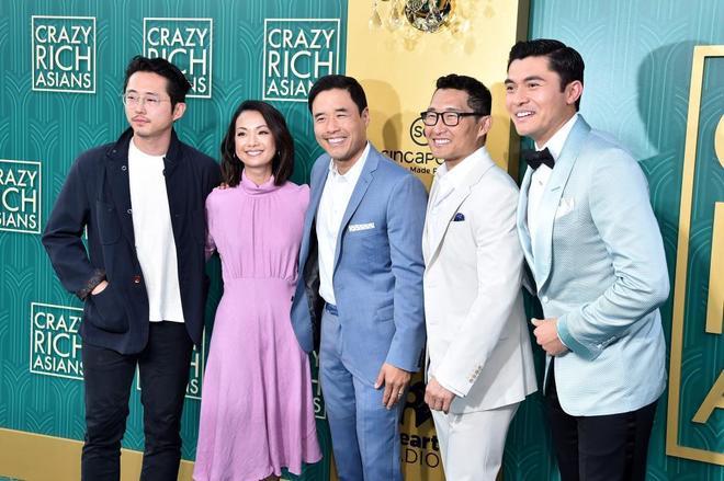 Steven Yeun, Jae Suh Park, Randall Park, Daniel Dae Kim and Henry Golding.