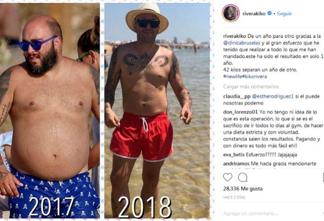 Cambios de look antes y despues de adelgazar