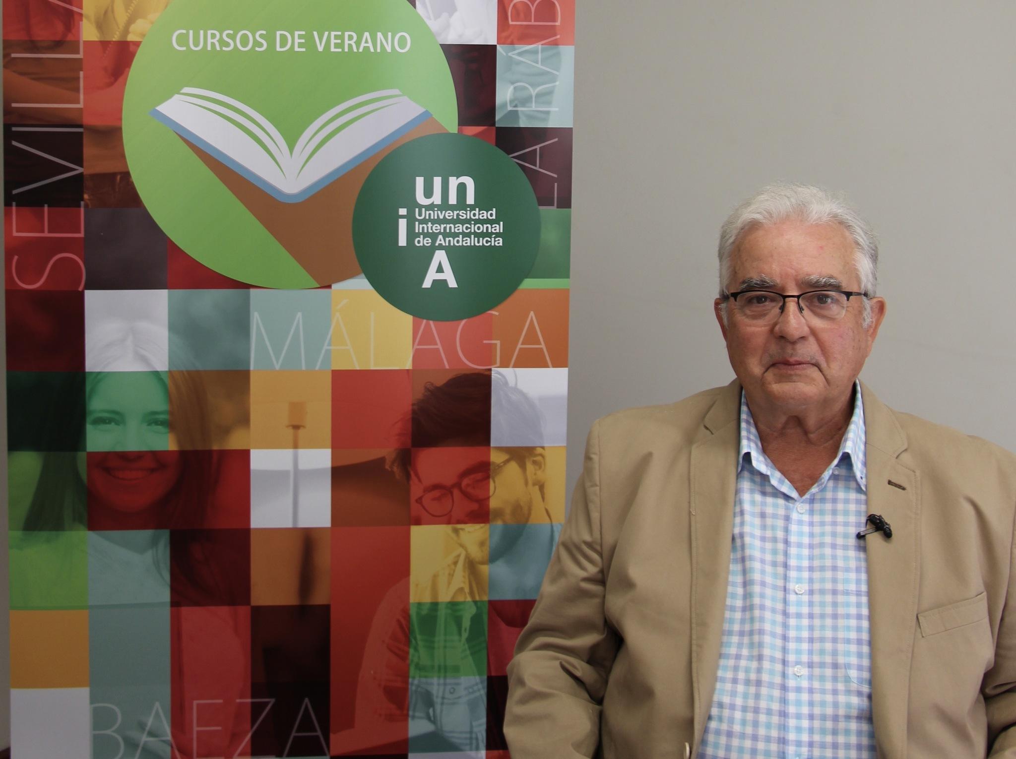 Antonio Marín Garrido, director del curso sobre calidad diferenciada y gastronomía andaluza.