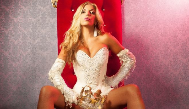 Rebeca Pons en la portada de su disco.