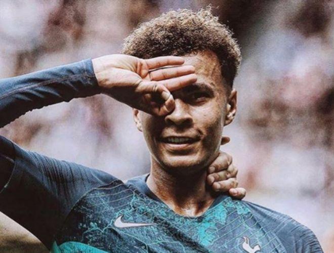 Dele Alli, futbolista del Tottenham Hotspur