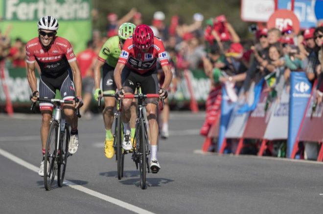 Etapa cántabra de la Vuelta a España del pasado año