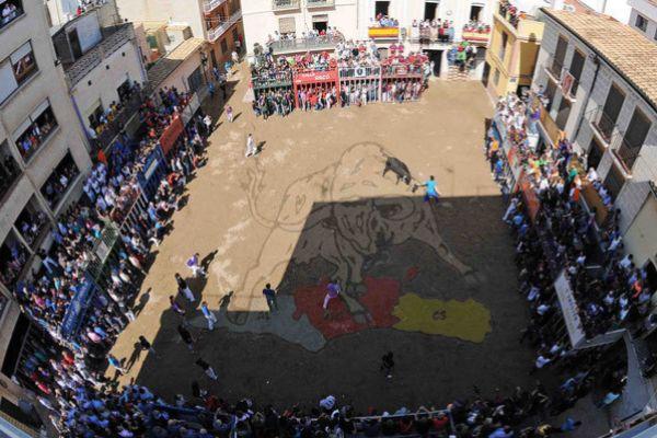 Bou del Poble, el Almassora el pasado mes de mayo.