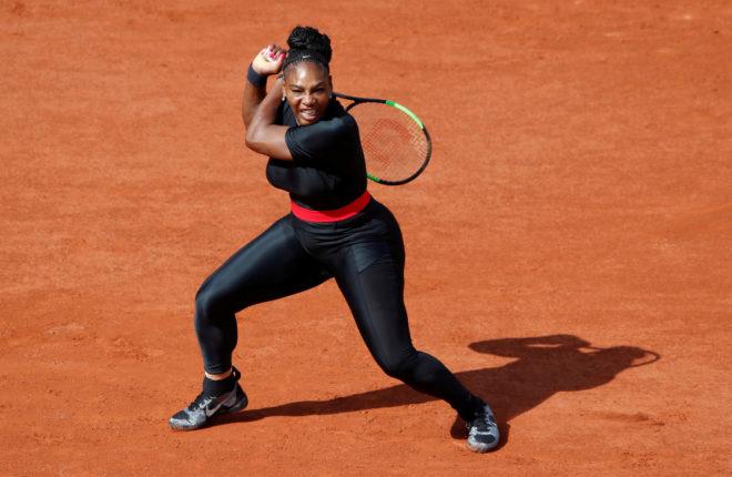 Serena Williams, durante el pasado Roland Garros