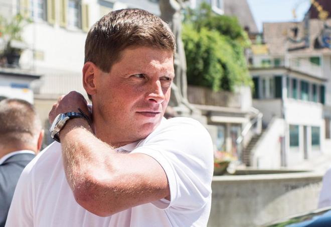 El exciclista alemán Jan Ullrich a su llegada a un juicio en Weinfelden (Suiza), en 2015.
