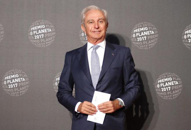 lberto Palatchi durante los premios Planeta 2017 en Barcelona.
