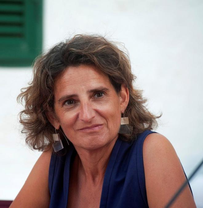 La ministra de Transición Ecológica Teresa Ribera.