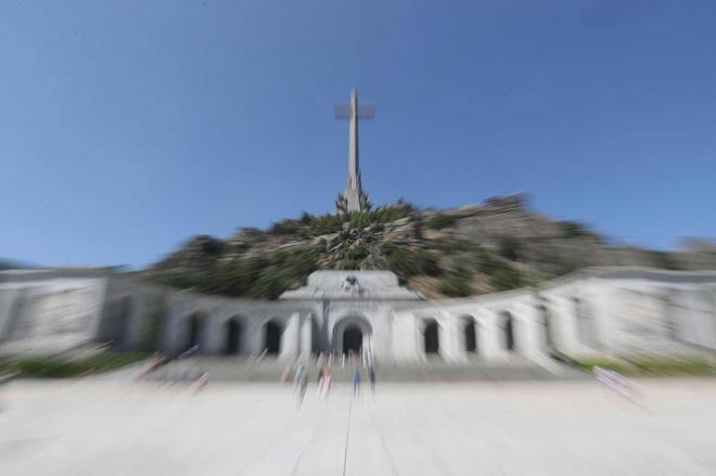 Imagen general del Valle de los Caídos.