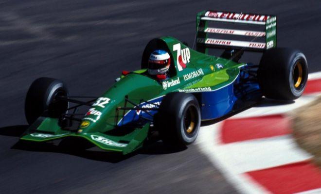 Michael Schumacher, durante el GP de Bélgica de 1991.