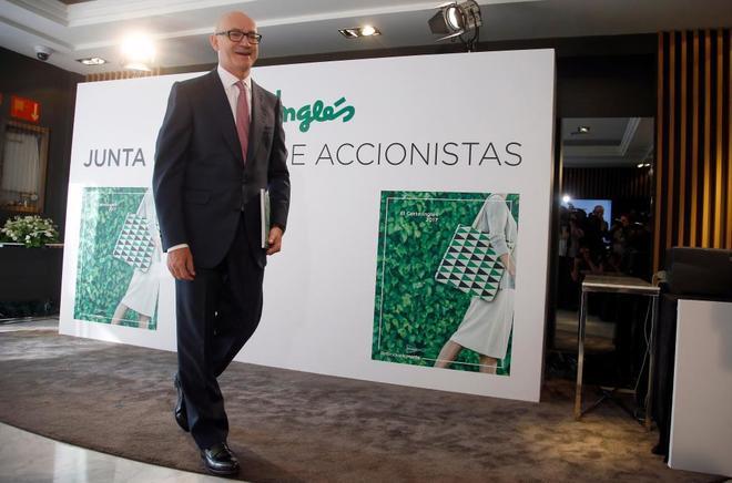 El nuevo presidente de El Corte Inglés, Jesús Nuño de la Rosa.