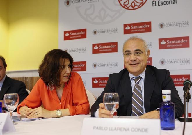 El juez Pablo Llarena, en un acto celebrado en julio en El Escorial.