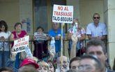 Una manifestación contra el trasvase Tajo-Segura en Castilla-La...
