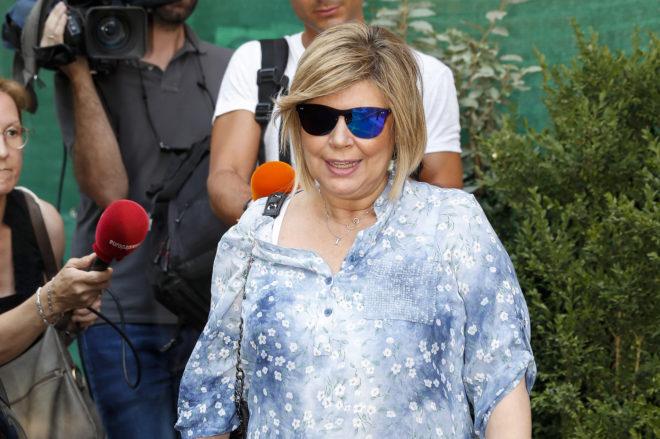 Terelu Campos por las calles de Madrid hace unas semanas