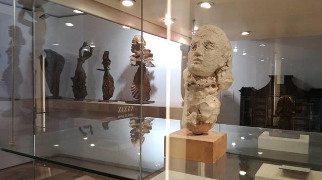 """El busto """"Retrato de Dora Maar""""  realizado a """"cuatro manos"""" por Pablo Picasso y  Apel·les Fenosa"""