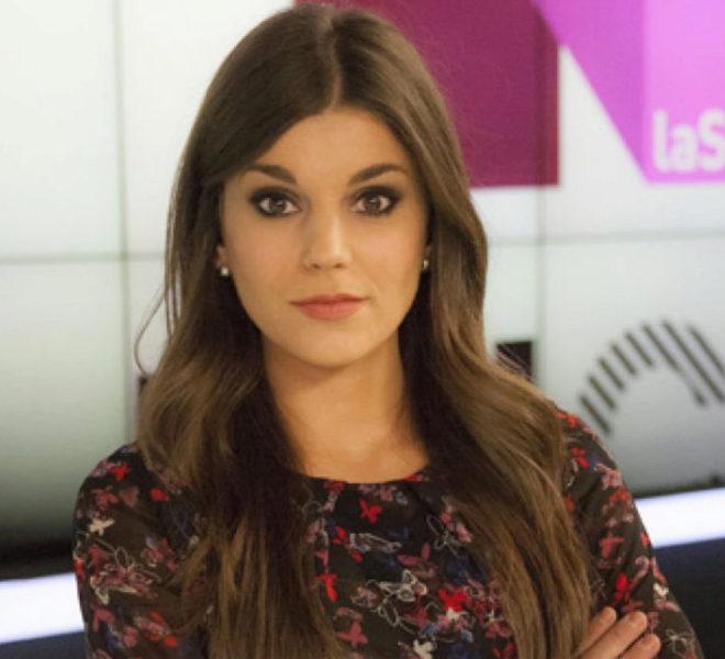 La periodista Lorena Baeza.