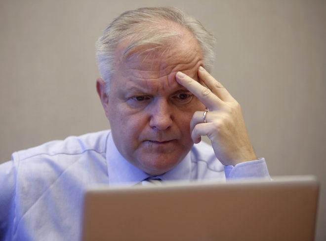 Olli Rehn, ex comisario de Asuntos Económicos.