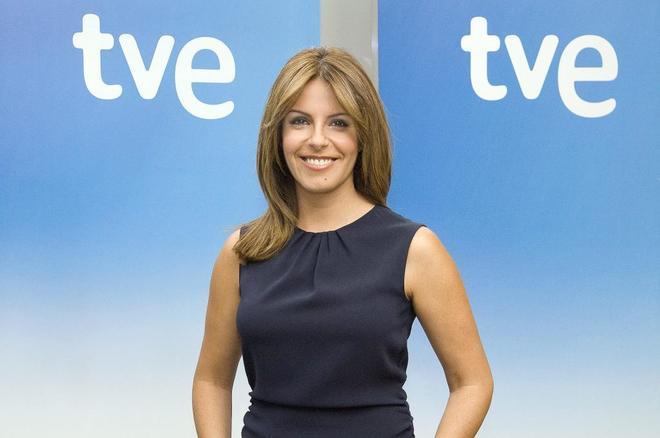 Pilar García Muñiz, presentadora de TVE.