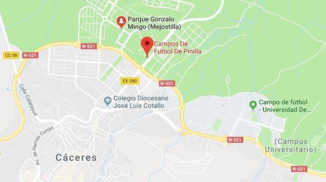 Parque Gonzalo Mingo, Cáceres.