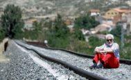 Manuel Gimeno, médico rural jubilado y uno de los portavoces de la plataforma Teruel Existe, en Calamocha.