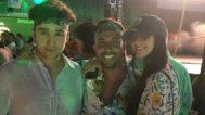 Froilán, Luis Torremocha y Victoria Federica en la fiesta 'hippy' del festival Starlite.