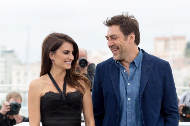 Penélope Cruz y Javier Bardem en el photocall de la película 'Everybody Knows', en Cannes