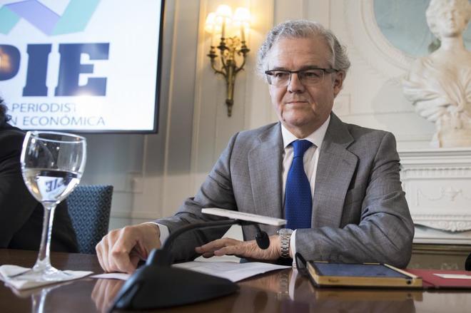 Sebastián Albella, presidente de la Comisión  Nacional del Mercado de Valores (CNMV).
