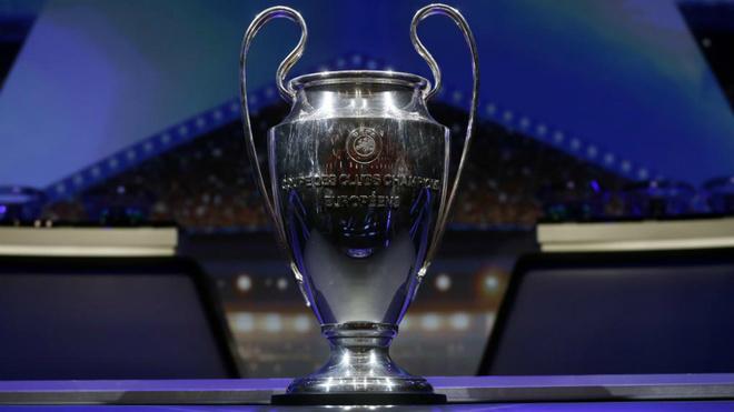 Imagen del trofeo de la Champions League