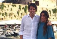 Los novios, Pablo Valdenebro y Silvia López Madrid.