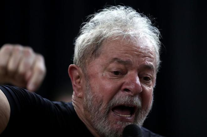 El ex presidente brasileño Luiz Inácio Lula Da Silva, vetado para la reelección.