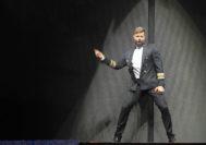 Ricky Martin, durante el concierto en Cádiz.