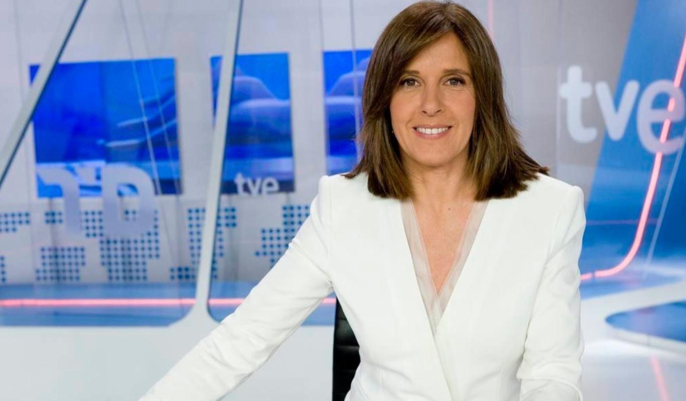 Ana Blanco, periodista y presentadora del Telediario.