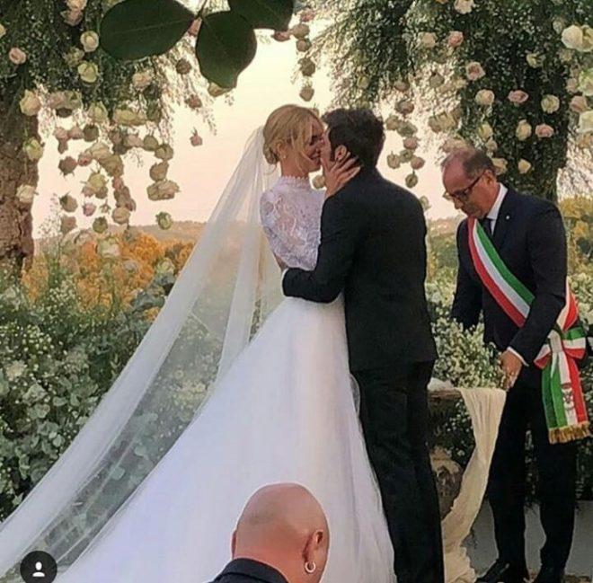 la boda 2.0 de chiara ferragni y fedez en sicilia | celebrities