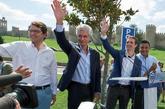De izqda. a dcha., Alfonso Fernández Mañueco, presidente del PP de...