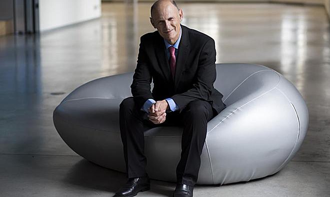 Juan Carlos Izpisúa, en la Fundación Telefónica en Madrid.