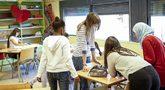 Alumnas en un aula de un centro de Formación Profesional de la...
