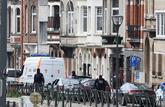 Despliegue policial tras el atentado en Bruselas en 2016.