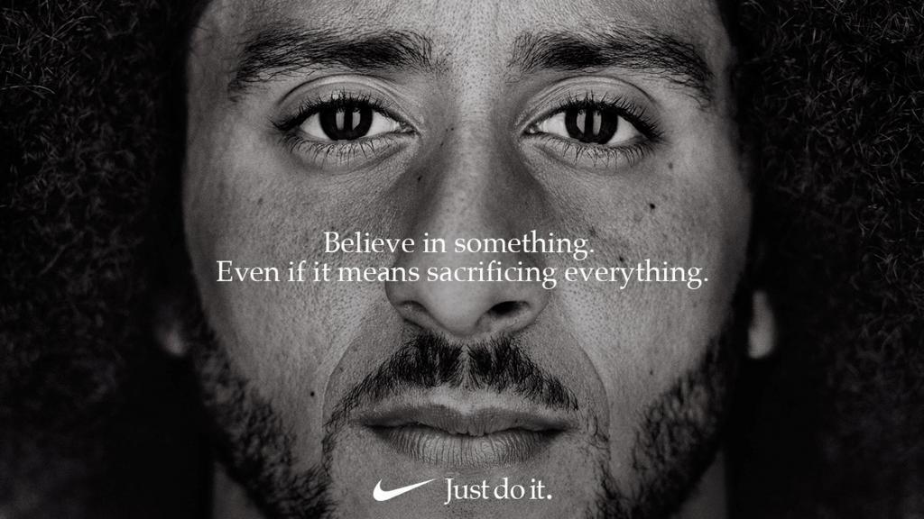 Kaepernick, el controvertido símbolo de Nike para el 30º aniversario del 'Just Do It'