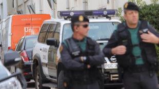Suspendido el traslado de 300 guardias civiles que pidieron salir de Cataluña