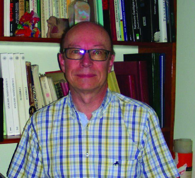 : Carlos Fernández, investigador del departamento de Ciencias de la Tierra de la Universidad de Huelva