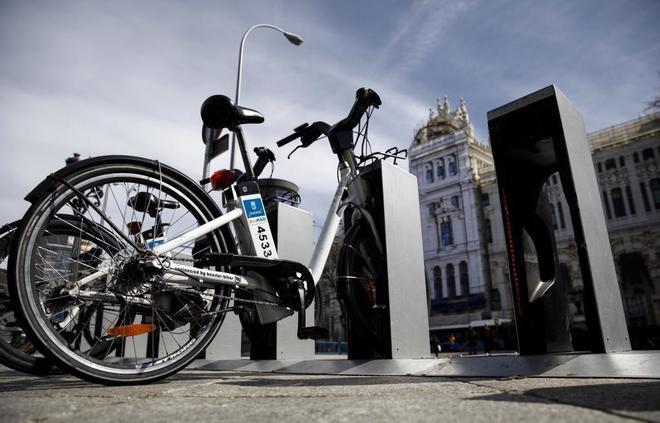 El servicio de bicicletas del Ayuntamiento.