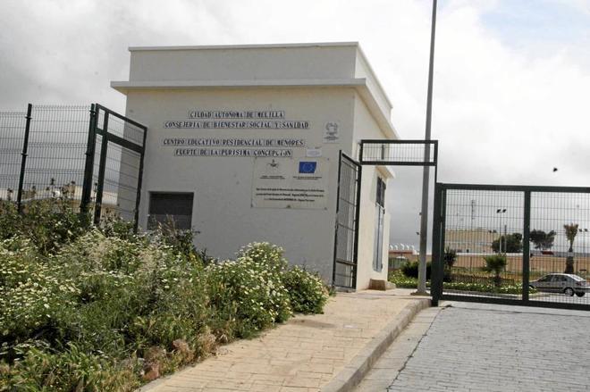 Centro de menores de La Purísima en Melilla.