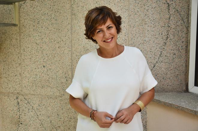 La periodista Cristina Ónega.