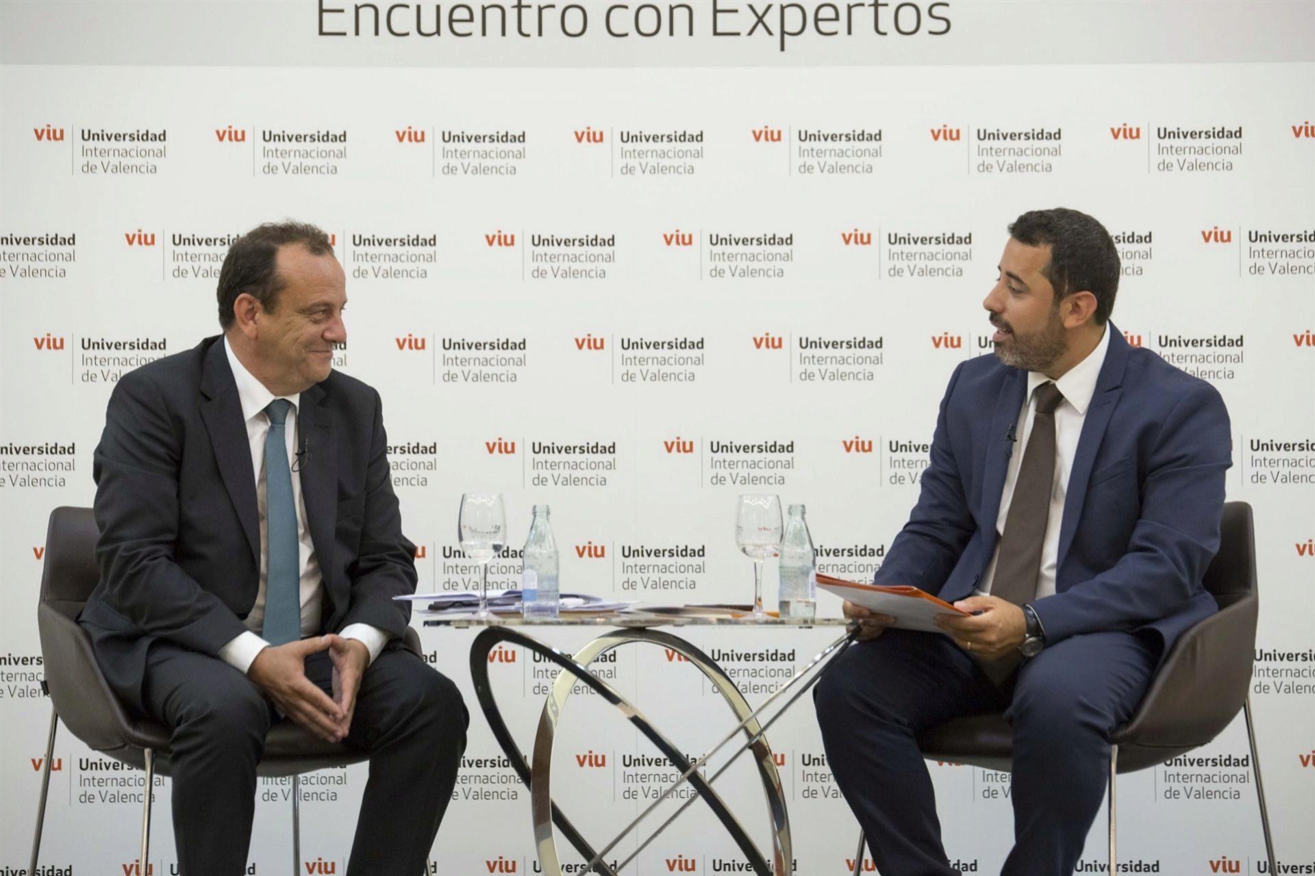 Pedro Horrach en su intervención en la VIU