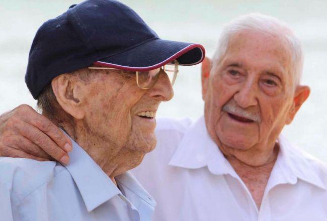 Germán y José, los rivales reconciliados de la batalla del Ebro que indignan a políticos 80 años después