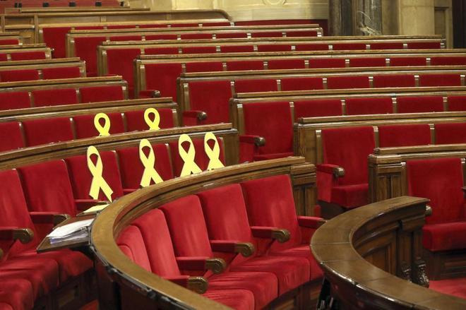 El Parlament de Cataluña en una imagen del pasado julio.
